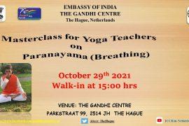 Masterclass for Yoga teachers on Paranayama (Breathing)